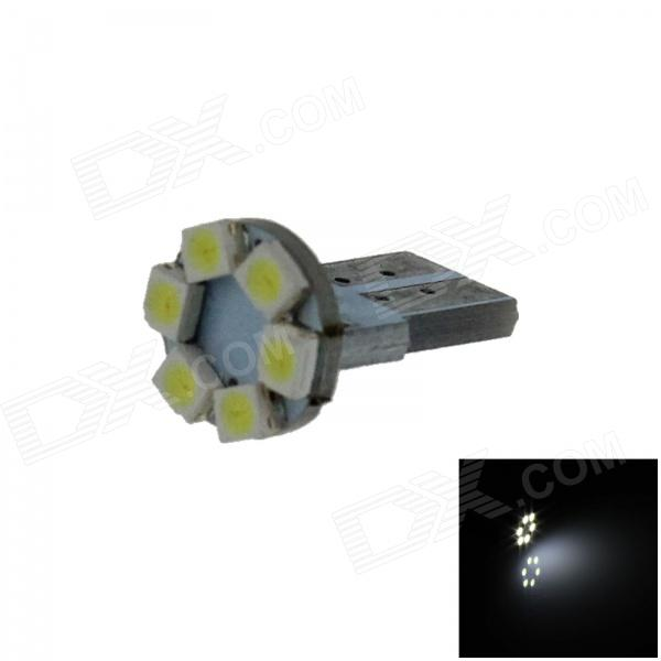 T10 / 159/280 / W5W 0.3W 50lm 6 x SMD 1210LED Branco PCB lâmpada Instrumento Car / Side Light - (12V)