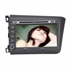 "Joyous 8"" Car GPS Car Radio w/ DVD, Bluetooth, Analog TV, RDS, AUX, CANBUS for 2011-2013 Honda Civic"