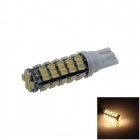 T10 / 194 / 147 / W5W 3W 250lm 68 x SMD 1206 LED Warm White Car Clearance Lamp / Side Light - (12V)