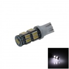 T10 / 194 / 168 / W5W 1W 180lm 17 x SMD 5630 LED White Car Clearance Lamp / Side Light - (12V)