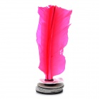 Shuttlecock Feather Kick Toy - Pink
