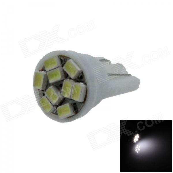 T10 / 147 / 168 / W5W 0.5W 80lm 9 x SMD 1206 LED White Car Clearance lamp / Side Light - (12V) 2 pieces led car dc 12v lampada light t10 w5w 194 168 super white 194 168 w5w t10 led parking bulb auto wedge clearance lamp