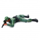 Military Figure Smart Crawling Force Soldier Toy - Green (2 x AA)