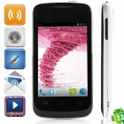 "S2 MTK6572 Dual-core Android 2.3.6 WCDMA Bar Phone w/ 3.5"" Capacitive, FM and Wi-Fi - Black + White"
