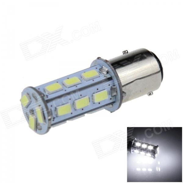 1157 / BAY15D 2W 200lm 18 x SMD 5630 LED White Car Steering Light / Backup / Brake Lamp - (12V)