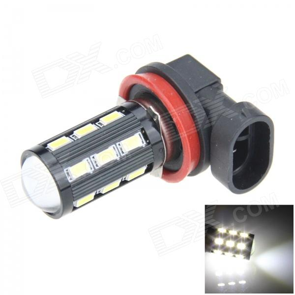H11 8W 500lm 18 x SMD 5630 LED + COB LED White Light Car Foglight / Headlamp - (12V) h1 4w 220lm 68 smd 1210 led warm white light car foglight headlamp tail light 12v