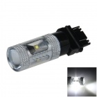 3157 / 3156 30W 600lm 6-Cree XB-D R3 White Car Brake Light / Steering Lamp / Backup light - (12~24V)