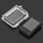 "SMJ 2.0"" TFT LCD Display Screen + Back Case for GoPro Hero 3 - Black + Transparent"