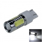 7443 / 7440 / T20 11W 600lm 5-LED White Car Steering / Tail / Signal / Brake Light - (12~24V)