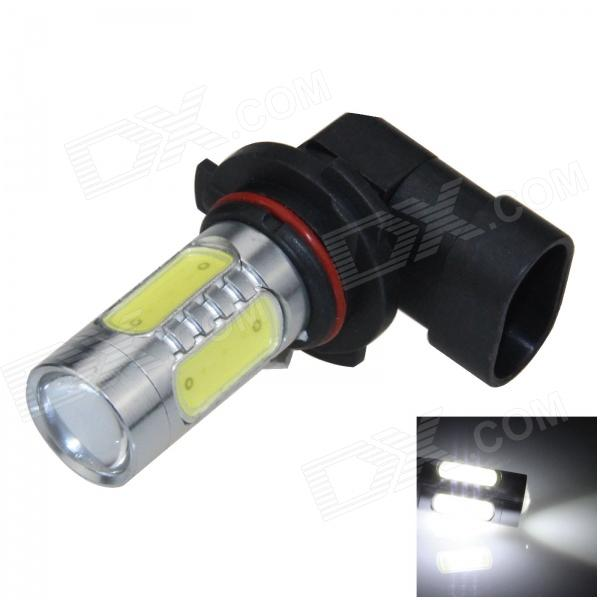9006 / HB4 11W 600lm 1-LED + 4-COB LED White Light Car Foglight / Headlamp - (12~24V) h3 11w 400lm 1 led 4 cob white light car foglight headlamp dc 12 24v