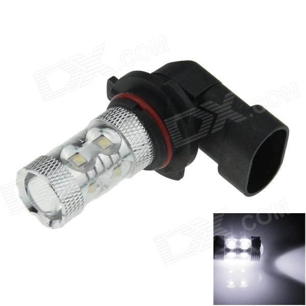 9006 / HB4 60W 800lm 12-LED White Light Car Foglight / Headlamp - (12~24V) free shipping notebook screen for e450 laptop lcd screen display 1920 1080 edp 04x5882 b140htn01 4