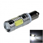BA9S / T4W / W6W 11W 600lm 1-CREE XP-E + 4-COB LED White Car Indicator / Instrument Light - (12V)