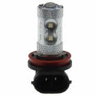 H11 60W 700lm 12-LED White Light Car Foglight / Farol - (12 ~ 24V)