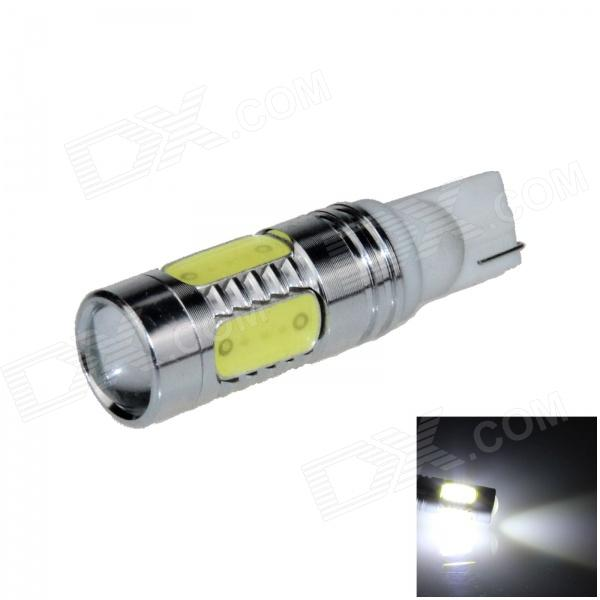 T10 / 194 / W5W 11W 600lm 1-CREE XP-E + 4-COB LED White Light Car Clearance / Side Lamp - (12~24V)