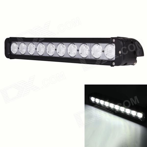 100W 8000lm Combo 10-LED White Work Light Bar Off-road Lamp / SUV ATV Lamp / Driving Lamp oslamp 22inch 324w tri row straight led light bar chips led work light combo beam 12v 24v truck suv 4wd 4x4 offroad led bar