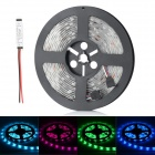 HML Waterproof 36W 3000lm 150 x SMD 5050 LED RGB Light Strip w/ Mini RGB Amplifier - (5M / 12V)