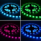 Impermeável 36W 3000lm 150 x SMD 5050 LED RGB Light Strip w / Mini RGB Amplificador - (5M / 12V)