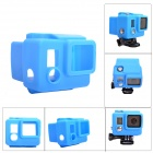 Fat Cat C-CS53+ High Quality Silicone Protective Case for Gopro Hero3+ / Hero3 Plus - Blue
