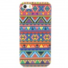 Stylish Graffiti Pattern TPU Back Case for Iphone 5 / 5s - Purple + Red