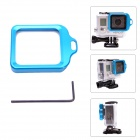 Fat Cat High Precision CNC Alluminum Alloy Lens Strap Ring for Gopro Hero 3+ - Blue