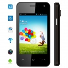 "MYSAGA C4 Android 4.2 Dual-Core GSM Bar Phone w/ 3.5"" Capacitive Screen, Wi-Fi and GPS - Black"