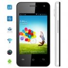 "MYSAGA C4 Android 4.2 Dual-Core GSM Bar Phone w/ 3.5"" Capacitive Screen, Wi-Fi and GPS - White"
