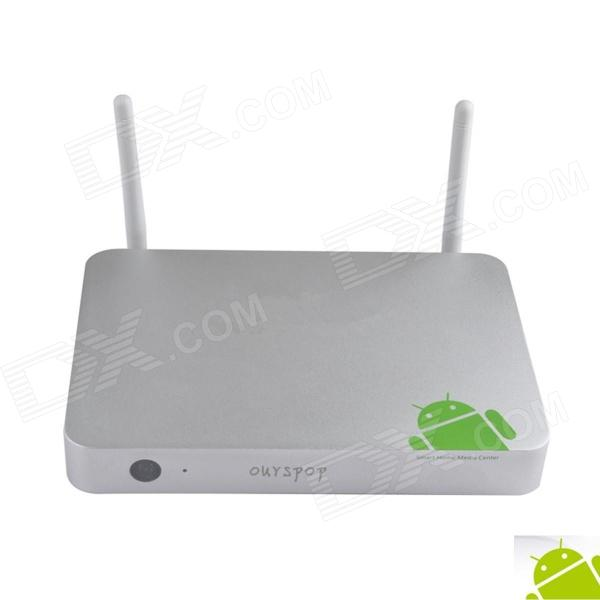Ourspop MT1 Quad-Core Android 4.2.2 Google TV Player w/ 2GB RAM / 8GB ROM / Bluetooth / RJ45 / SPDII dl 17ваза декоративная murano delta
