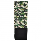 NUCKILY  PH10 Outdoor Fleece Polyester Fiber Headscarf - Army Green Camouflage