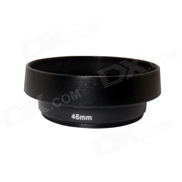 46mm Aluminum Lens Reversal Filter Adapter Ring for Canon / Nikon
