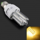 HZLED E27 3W 270lm 3200K 36 x SMD 3014 LED Warm White Light Lamp - White + Silver (AC 85~265V)