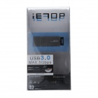 Super Speed ​​USB 3.0 SD / SDHC / MMC minnekortleser - Svart (. Max 64 GB)