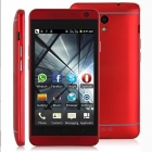 "Mini One SC6820 1,0 GHz Android 4.0 GSM-Telefon Bar w / 4,0 ""Kapazitive, Wi-Fi, Bluetooth - Rot"