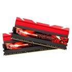 G.SKILL F3-2400C10D-16GTX DDR3 2400 C10 (8GB x 2) 16GB RAM Memory for Desktop PC - Red (2 PCS)