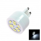 G9 4W 180lm 5500K 9 x SMD 3528 LED White Light Lamp Bulb - White (AC 110~120V)