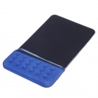 Baimai M800 High Quality Silicone Cuff Mouse Pad - Black + Blue