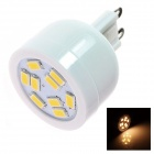 G9 4W 180lm 2500K 9 x SMD 3528 LED Warm White Light Lamp Bulb - White (AC 110~120V)