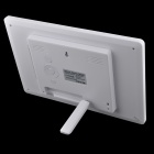 C131021004 Desktop Digital Photo Frame w/ SD / USB / Earphone - White