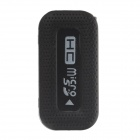 Retractable USB 2.0 Micro SD / TF Card Reader - Black (Max. 32GB)