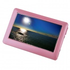"1080p 4.3"" HD Touch Screen MP5 Player w/ TV Out - Pink (16GB)"