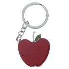 Cute Apple Style Zinc Alloy Keychain - Silver + Red + Green
