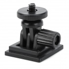 "H001 170 Degree Rotational 1/4"" Car Mount Holder for GPS / Digital Camera - Black"