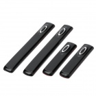 Car Door Edge Anti-Collision Strips Set - Black (2 Pairs)