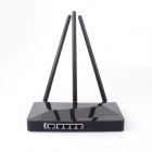 J-LINK LJ-8500 IEEE 802.11b/g/n Wi-Fi Wireless Enhanced 3-antenna 300Mbps Broadband Router - Black