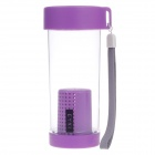 EYKI H5017 High-quality Leak-proof Bottle w/ Filter + Strap - Purple (350mL)