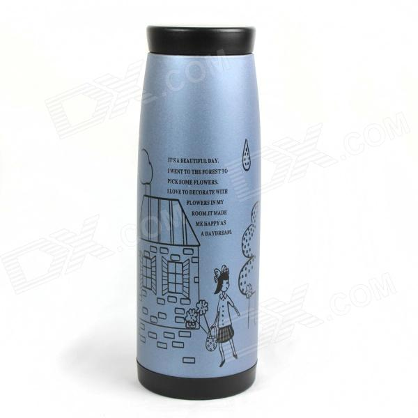 Stainless Steel Bachelor Cup - Gray (250mL) 250g supreme que she super tender green tea c44 free shipping