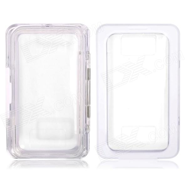 где купить Protective Waterproof Case for Samsung Galaxy Note 3 N9000 / Note 2 N7100 - White + Transparent дешево