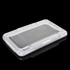 Protective Waterproof Case for Samsung Galaxy Note 3 N9000 / Note 2 N7100 - White + Transparent