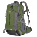 Creeper YD-200 Stylish Convenient Outdoor Nylon Backpack for Travel / Hiking - Army Green (45L)