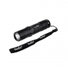 TANK007 Waterproof TK507-5 CREE XP-G R5 180LM 5-Mode Flashlight w/ Strap - Black (1 x 14500/AAA)
