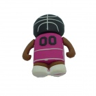 Basketball Player Style USB 2.0 Flash Drive Disk - Black + Red + Multicolor (8GB)